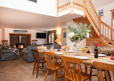 6 - living:dining holiday home