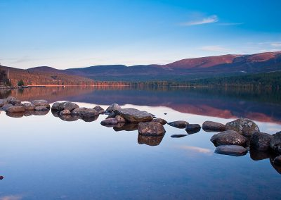 Loch Morlich in evening