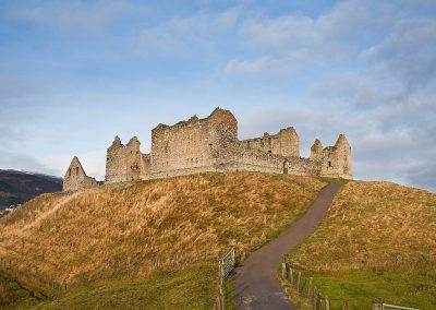 Ruthven Barracks, near Kingussie, Scotland
